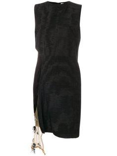 платье шифт с боковой отделкой Toga