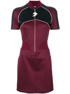 платье на молнии с логотипом Versus