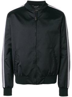 куртка-бомбер  с вышивкой Medusa Versace