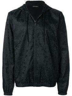 куртка с капюшоном и узором Барокко Versace