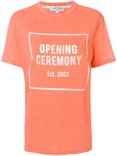 футболка с логотипом  Opening Ceremony