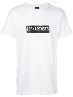 футболка с принтом логотипа Les (Art)Ists