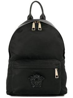 рюкзак с деталью Medusa Versace