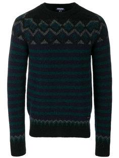 свитер с зигзагообразным узором Woolrich
