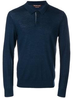 рубашка-поло с длинными рукавами Michael Kors
