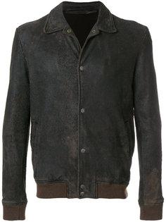 приталенная байкерская куртка  Salvatore Santoro