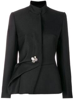 пиджак с декоративной складкой Lanvin