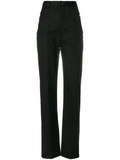 брюки с завышенной талией Rick Owens DRKSHDW