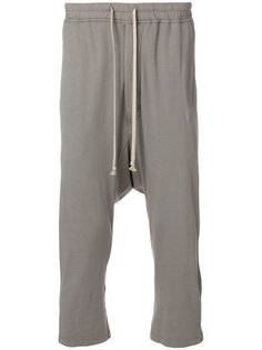 укороченные спортивные брюки  Rick Owens DRKSHDW