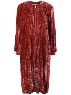 расклешенное платье с длинными рукавами Forte Forte