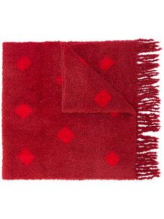 шарф в ромбы Suzusan
