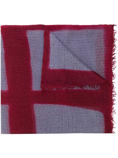 клетчатый шарф Suzusan