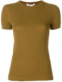 однотонная футболка  Helmut Lang