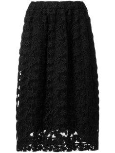 мини-юбка с вышивкой  Comme Des Garçons Noir Kei Ninomiya