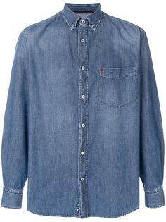 джинсовая рубашка  Paul & Shark