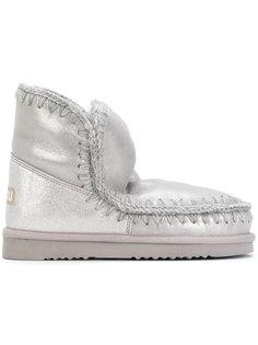 ботинки Eskimo со строчкой Mou