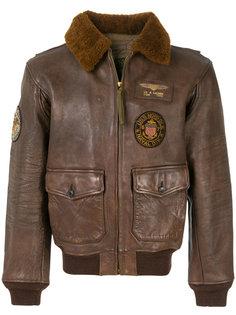 куртка-бомбер с аппликацией Polo Ralph Lauren