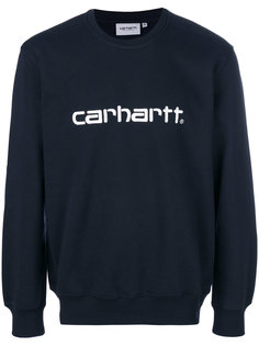 толстовка с принтом-логотипом Carhartt