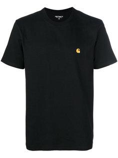 футболка с вышитым логотипом Carhartt