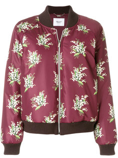 куртка бомбер с цветочным принтом Blugirl