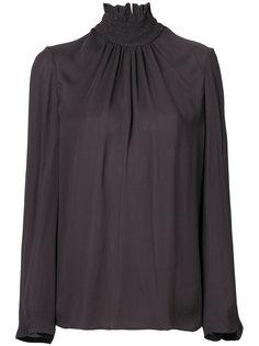 "блузка с воротником ""воронка"" Dorothee Schumacher"