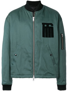 куртка-бомбер с логотипом Raf Simons
