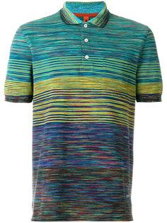 футболка-поло с полосатым принтом Missoni