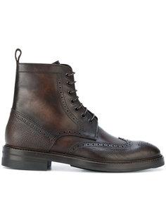 ботинки с брогированием Paul Smith