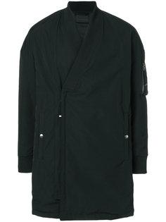куртка-бомбер свободного кроя Diesel Black Gold