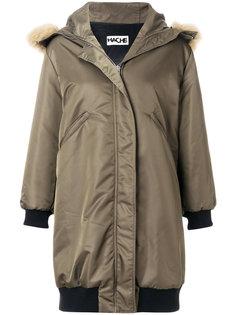 пальто-парка с капюшоном  Hache