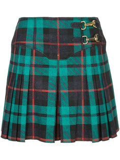 плиссированная юбка с узором тартан  Esteban Cortazar