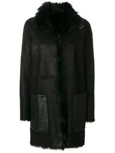 двусторонняя куртка из меха ягненка Belstaff