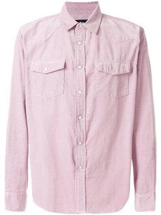 рубашка с нагрудными карманами Stussy