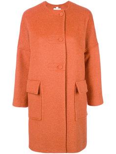 пальто с заниженной линией плеч  Blugirl