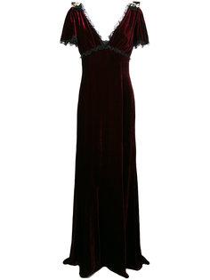 вечернее платье с кружевом Dolce & Gabbana