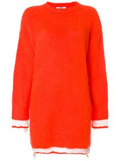 платье-свитер  MSGM