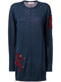 платье-свитер с пантерой   Sonia Rykiel