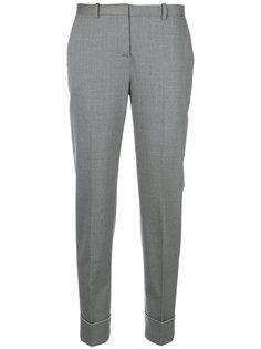 строгие брюки с манжетами  Fabiana Filippi
