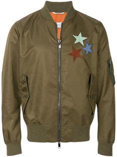 лоскутная куртка бомбер Valentino