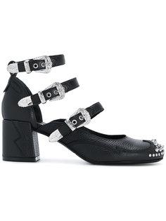 туфли-лодочки с ремешками в стиле вестерн McQ Alexander McQueen