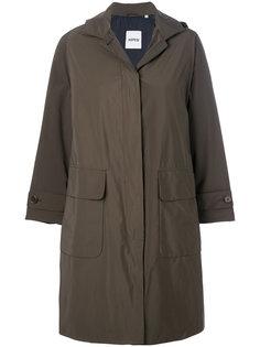 пальто с капюшоном и карманами карго  Aspesi