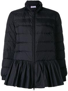 дутая куртка с оборкой  Red Valentino