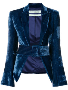 приталенный пиджак с поясом Off-White