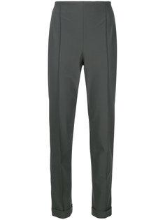 брюки строгого кроя с заворотами Salvatore Ferragamo