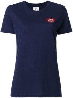 футболка с вышивкой Lets Coast Zoe Karssen