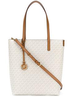 сумка-шоппер с принтом логотипа Michael Michael Kors