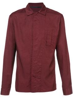 рубашка с потайной планкой Haider Ackermann