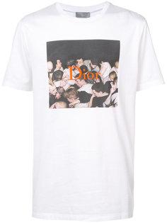 футболка с логотипом Dior Homme