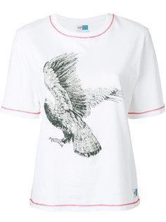 футболка с принтом орла  Kenzo