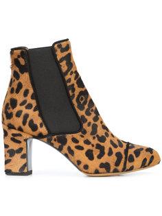 leopard print Kiki boots Tabitha Simmons